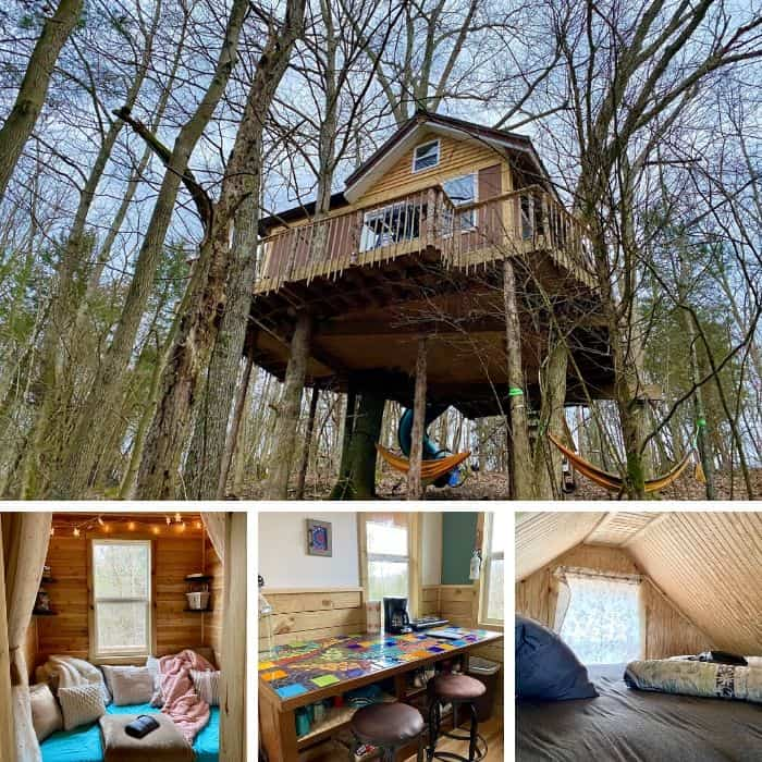 treehouse in Kentucky