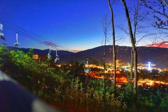 Views in Anakeesta Gatlinburg, TN