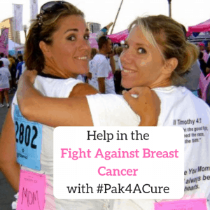 Help in the Fight Against Breast Cancer with #Pak4ACure