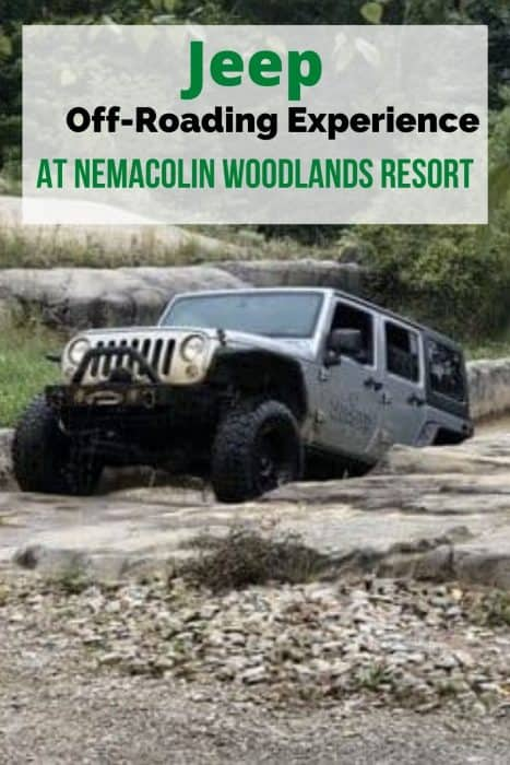 Jeep Off-Roading Experience at Nemacolin Woodlands Resort