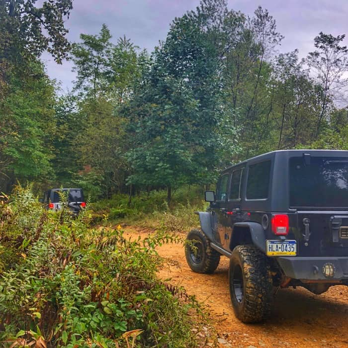 off road jeep experience