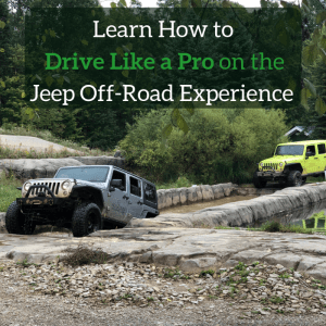 Learn How to Drive Like a Pro on the Jeep Off-Road Experience