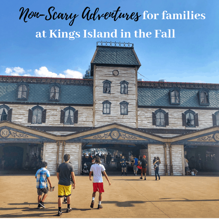 Non Scary Adventures for Families at King Island in the Fall