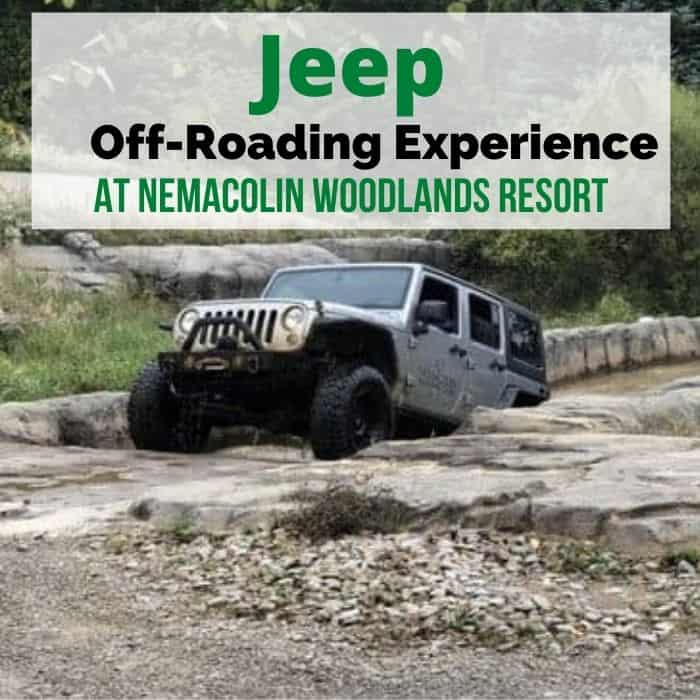 The Jeep Off-Roading Experience at Nemacolin Woodlands Resort