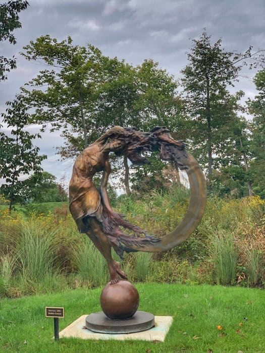 art sculpture at Nemacolin