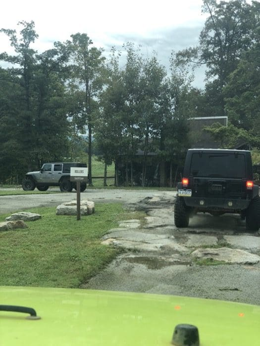 Jeep road test course