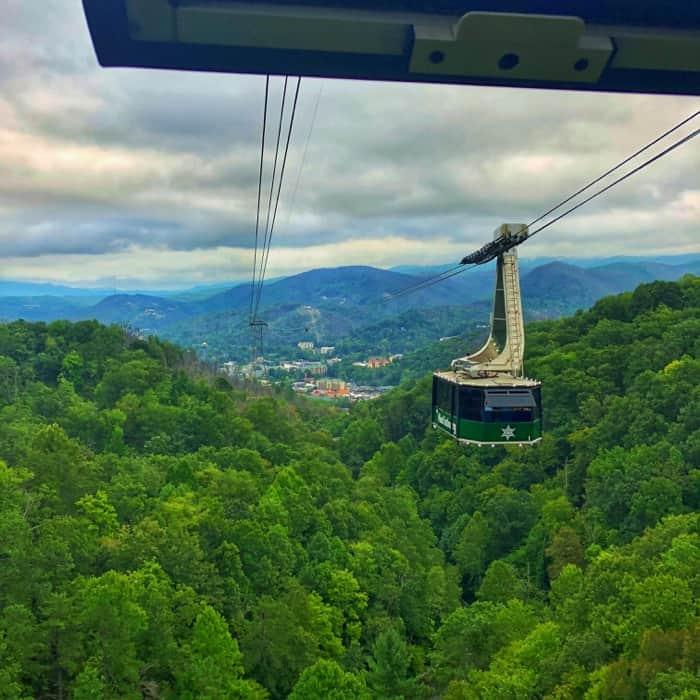 aerial tramway to Ober Gatlinburg