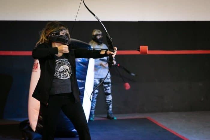 Adventure Mom at Archery Arena in Cincinnati