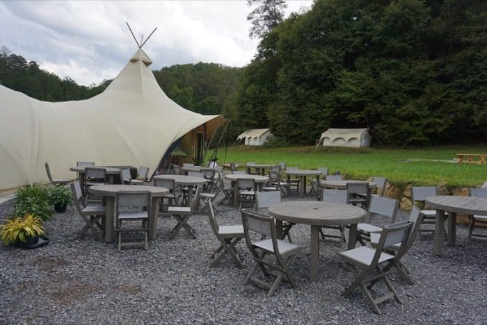 glamping-under-canvas-dining-area-tables
