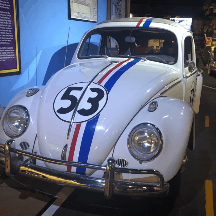 herbie-love-bug-hollywood-car-museum-gatlinburg