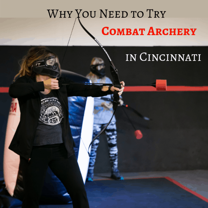 combat-archery-cincinnati-ohio-adventure-mom-blog