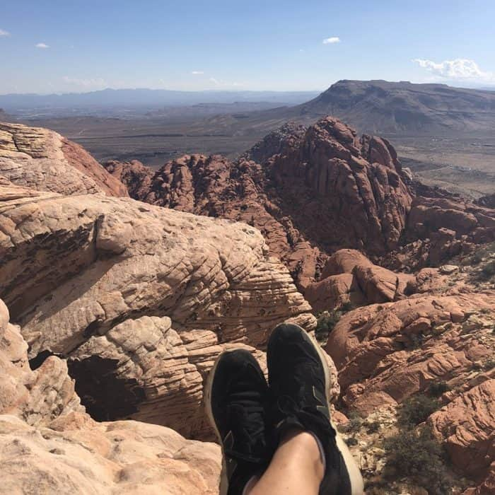 view at Red Rock Canyon National Conservation Area