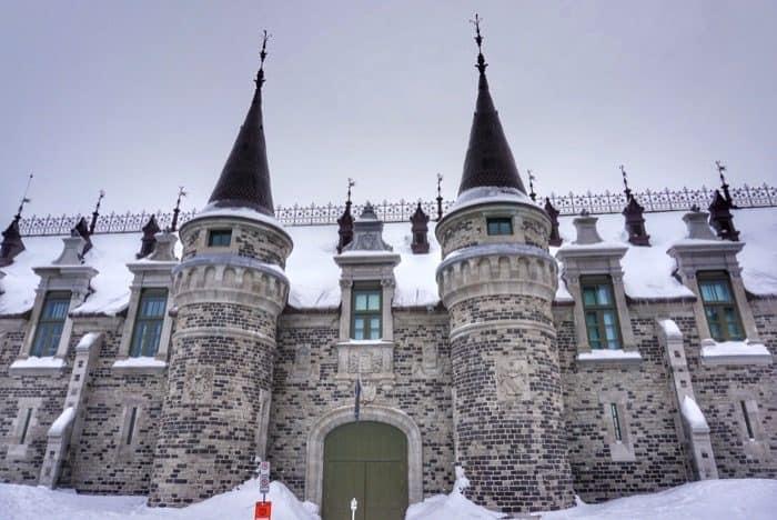 unique architecture in Quebec City