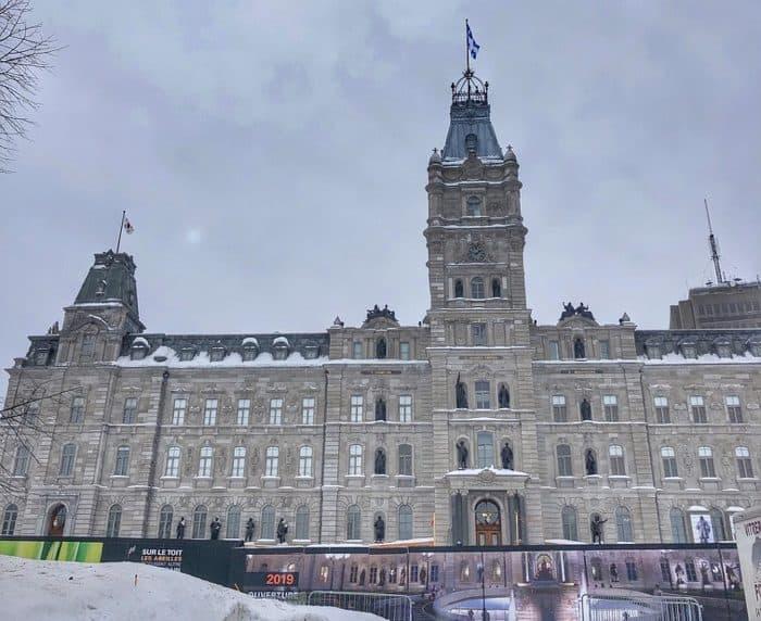 architecture in Quebec City