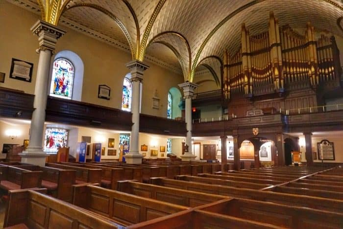 Cathedral of the Holy Trinity in Old Quebec City