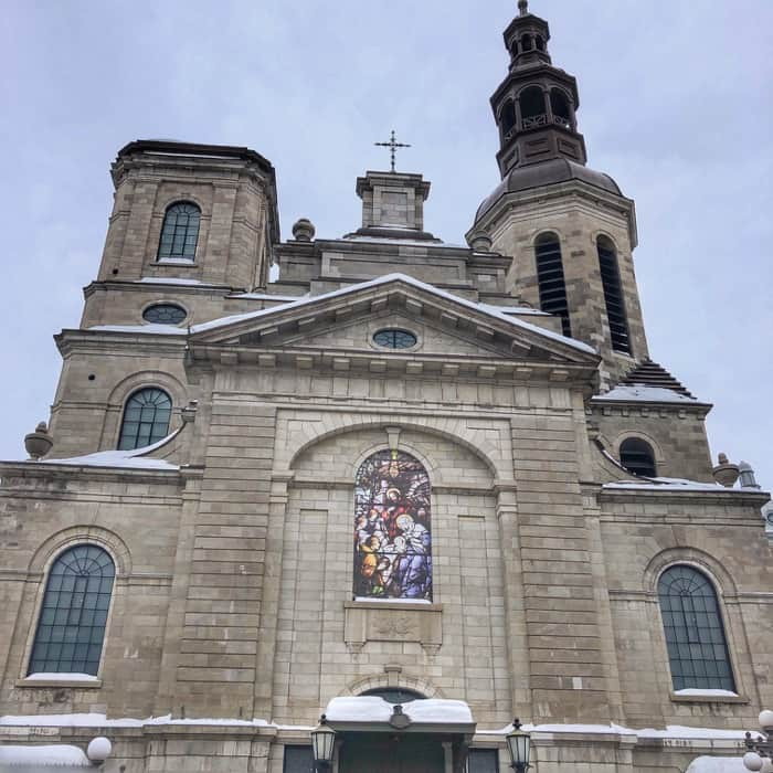 Notre-Dame-de-Québec Basilica in Quebec