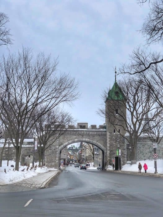 entrance to Old Quebec City