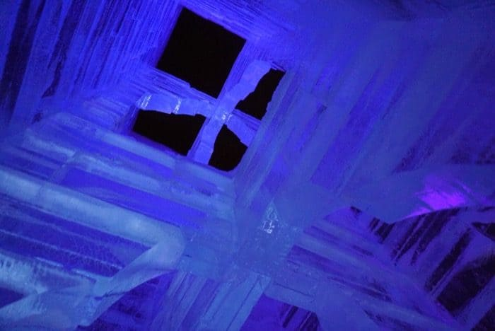 ice tower Winter Carnival Quebec city