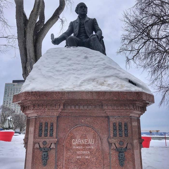 monument in Quebec-City