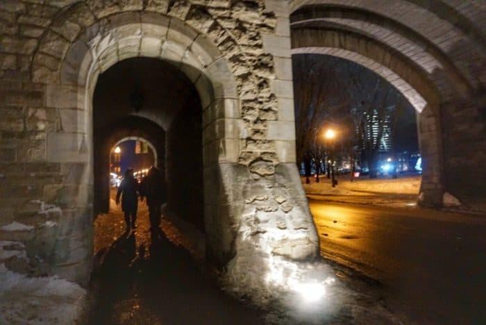 old quebec city gate