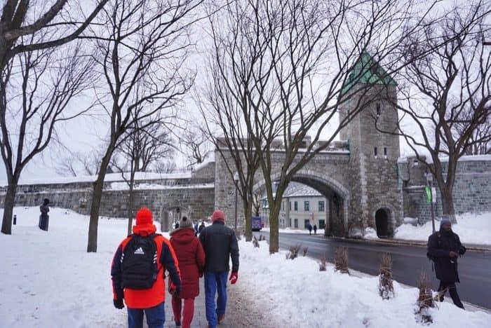 Walking Tour of Quebec City