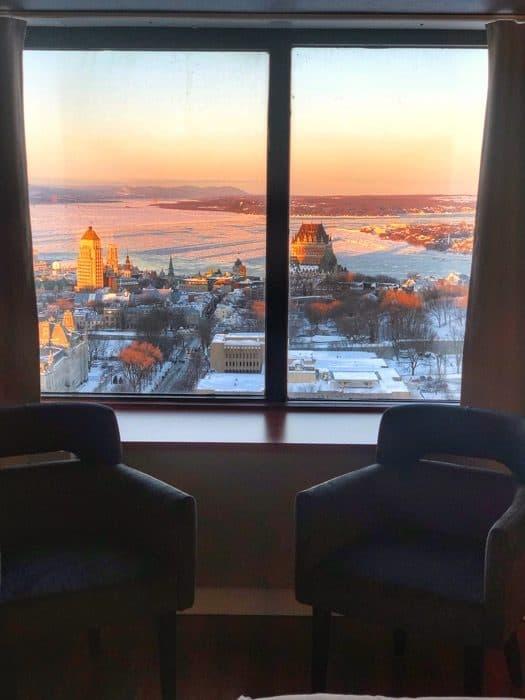 window view Hotel Le Concorde