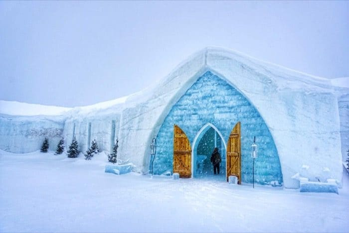 Chapel at Hotel de Glace Ice Hotel