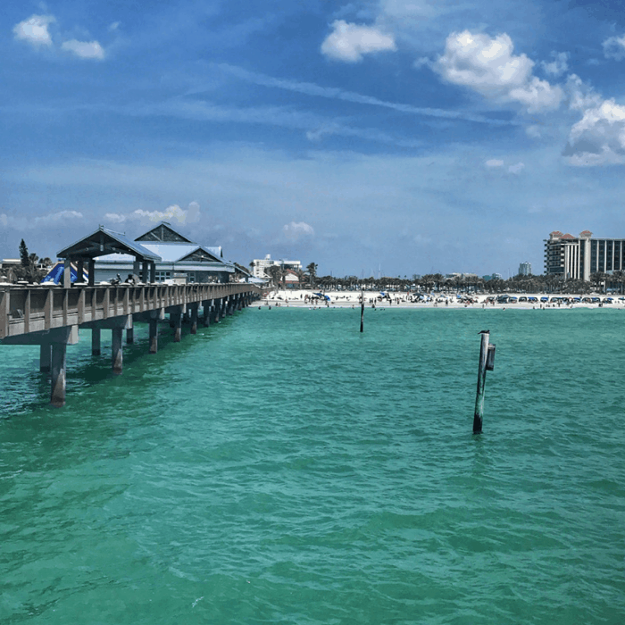 Fishing off of Pier 60 in Clearwater
