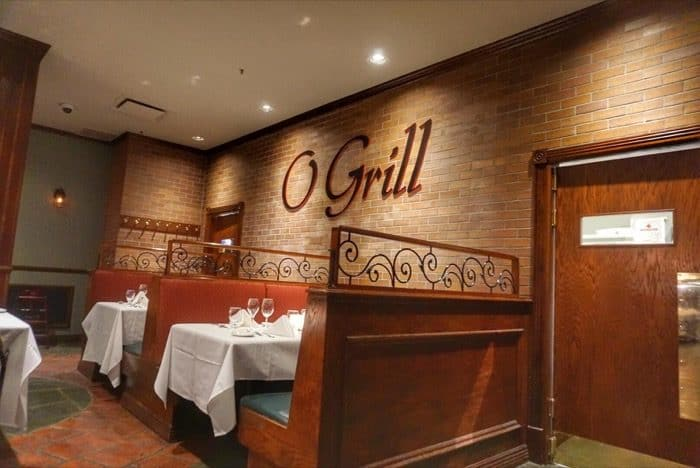 O Grill at Hotel Valcartier in Quebec