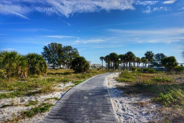 boardwalk Sand Key park