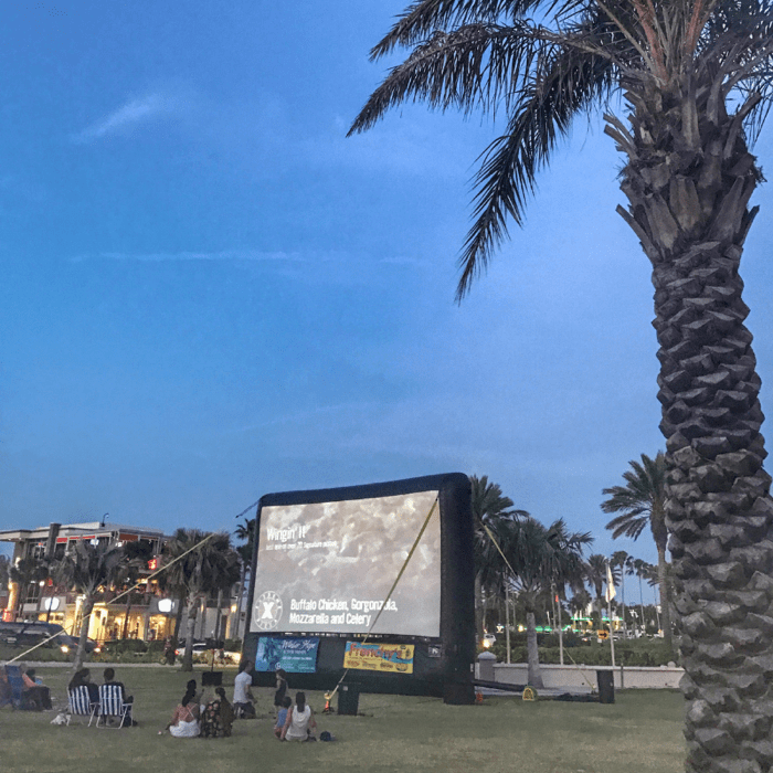 Free movies in the park in Clearwater