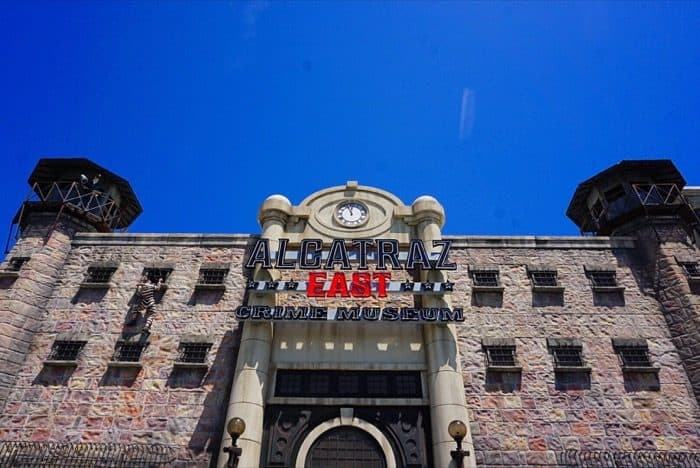 Alcatraz East Crime Museum in Pigeon Forge