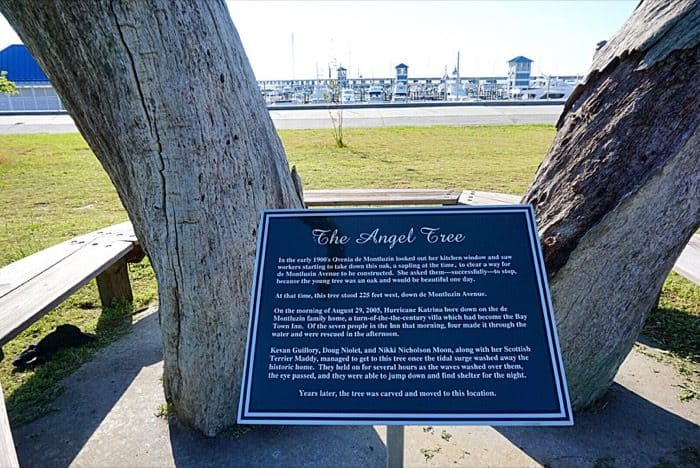 Angel Trees in Bay St. Louis, MS