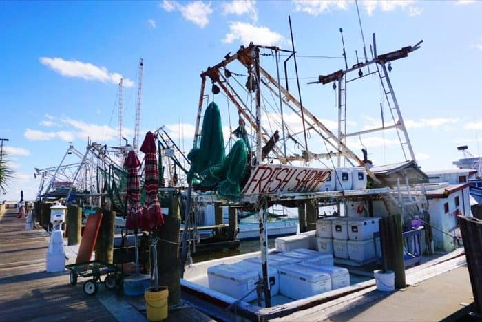 Shrimp Boat at Biloxi Small Craft Harbor