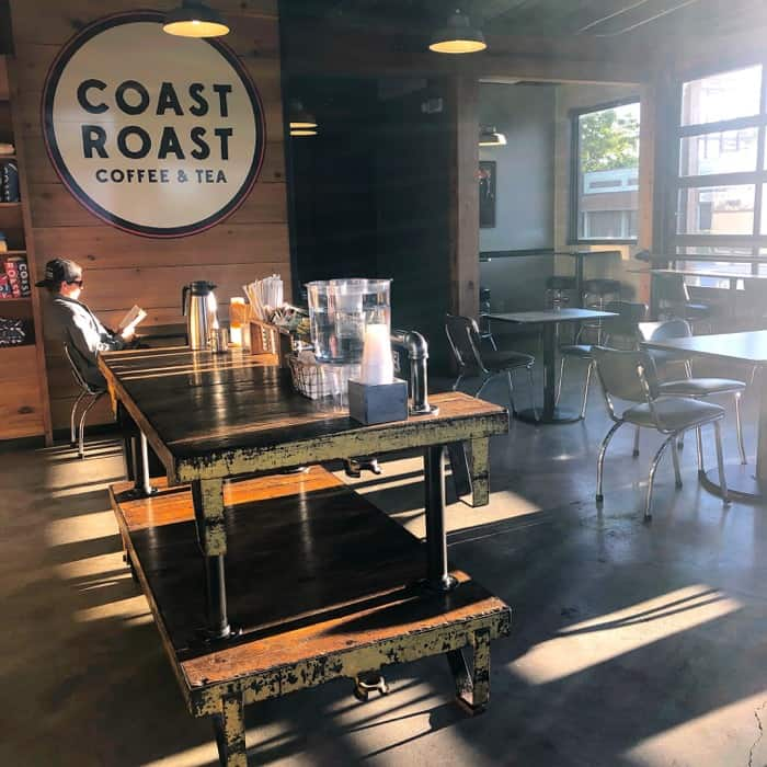 Inside Seating at Coast Roast Coffee & Tea in Gulfport, MS