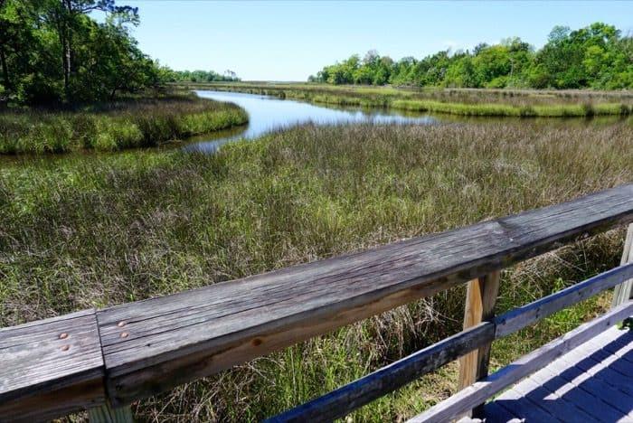Gulf Islands National Seashore at Davis Bayou trail