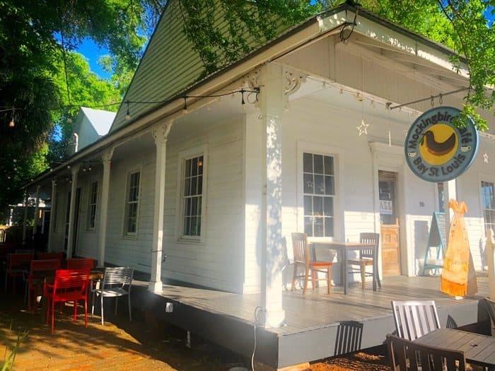 Mockingbird Cafe in Bay St. Louis, MS