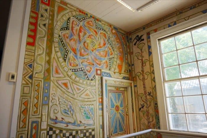 Murals at Walter Anderson Museum of Art in Ocean Springs, MS