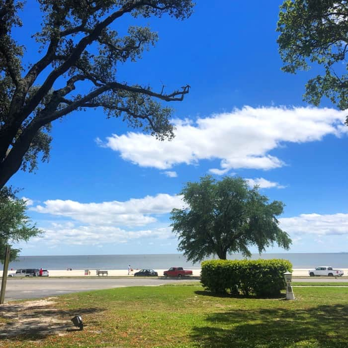 Beach views from Courtyard by Marriott – Gulfport Beachfront in Gulfport, MS