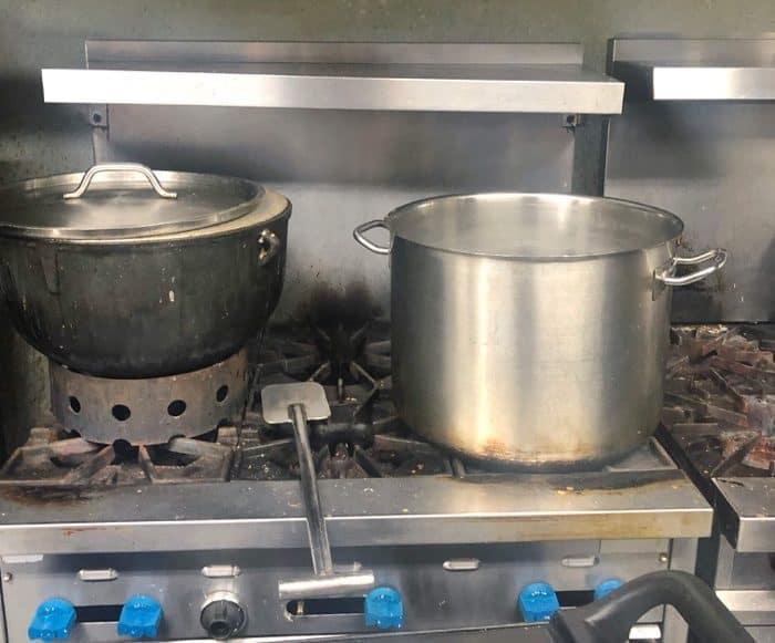 cooking class at Spuddy's Cajun Foods