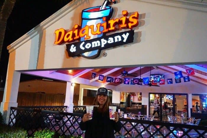 drinks from Daiquiris & Company Houma LA
