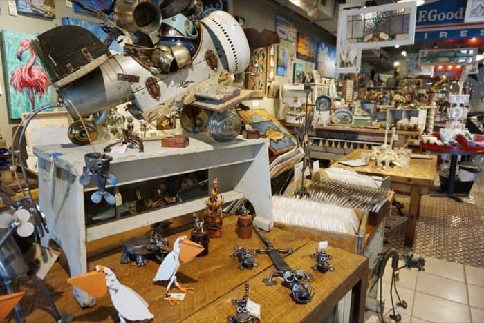 Downtown shop in Ocean Springs, MS