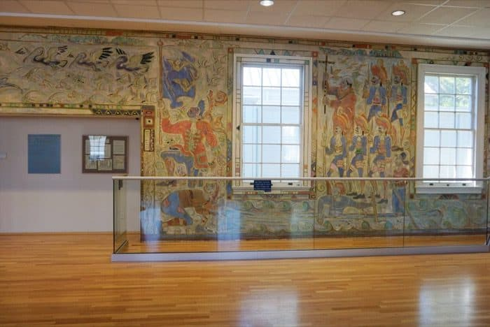 Murals at Walter Anderson Museum of Art in Ocean Springs, MS