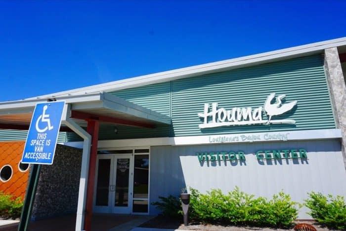 Houma Visitor Center in Louisiana
