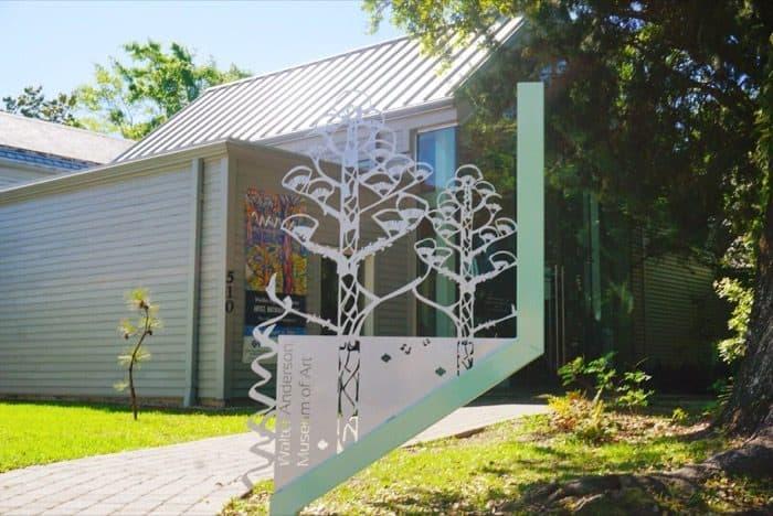 Walter Anderson Museum of Art in Ocean Springs, MS