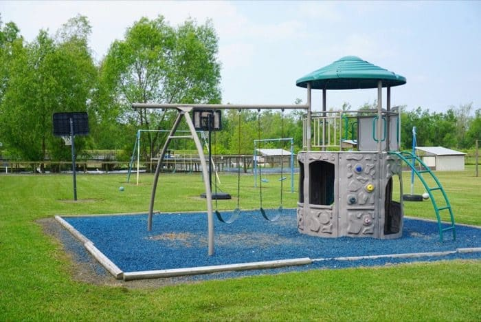 playground at Greenwood Gator Farm