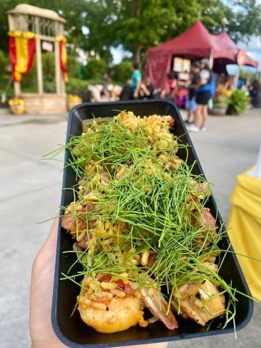 Chicken, Shrimp & Sausage Paella-grand- Carnivale- Kings-Island