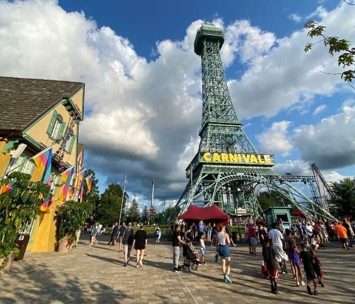 Eiffel Tower-grand-carnivale-kings-island