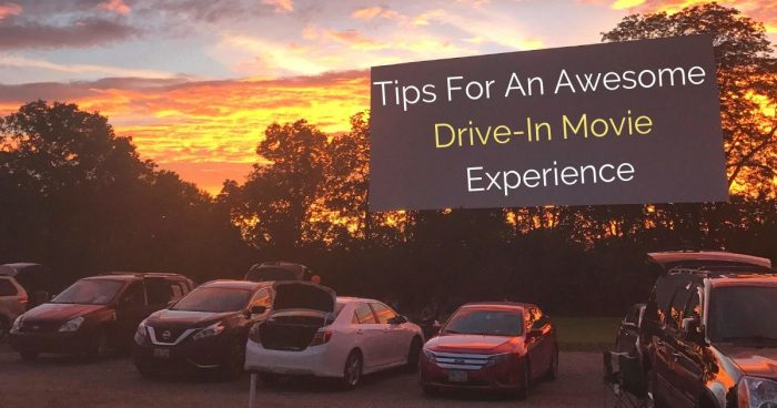 Tips For An Awesome Drive In Movie Experience