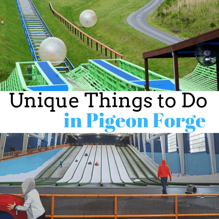 Unique Things to Do in Pigeon Forge